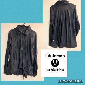 Women's Lululemon lightweight jacket size 8 black